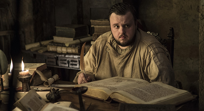 Game of thrones stars john bradley and isaac hempstead wright review game of thrones season 7 2017 john bradley photo helen stopboris Images
