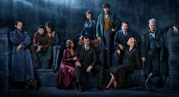 FANTASTIC BEASTS: THE CRIMES OF GRINDELWALD cast (Warner Bros.)