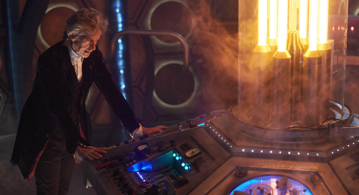 "PETER CAPALDI in Doctor Who 2017 Christmas special ""Twice Upon a Time."" (Simon Ridgway)"