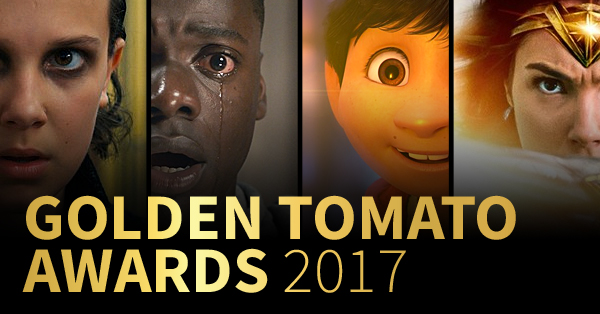 Golden Tomato Awards: Best Movies & TV of 2017