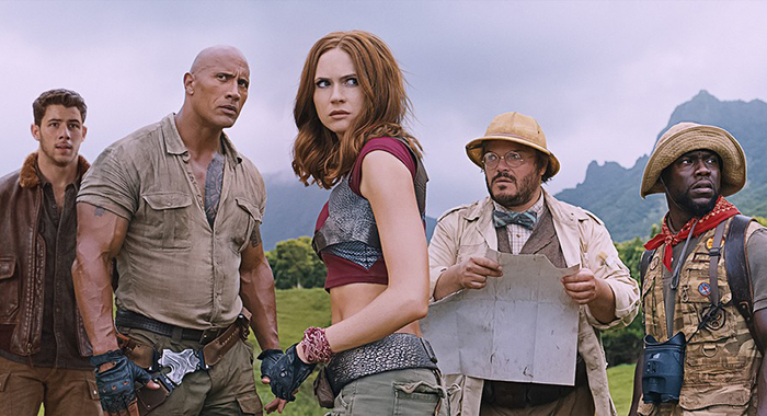 'Jumanji,' 'Insidious' top 'Star Wars' in its fourth weekend