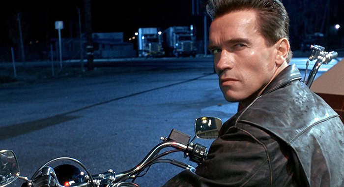 Arnold Schwarzenegger in 1984 film The Terminator (Orion Pictures Corporation)