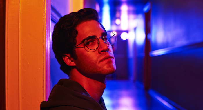 The Assassination of Gianni Versace: American Crime Story -- Pictured: Darren Criss as Andrew Cunanan. CR: Pari Dukovic/FX