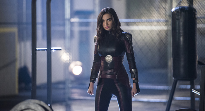 "Amy Jackson as Imra Ardeen/Saturn Girl in Supergirl -- ""Legion of Superheroes"" (Diyah Pera/The CW)"