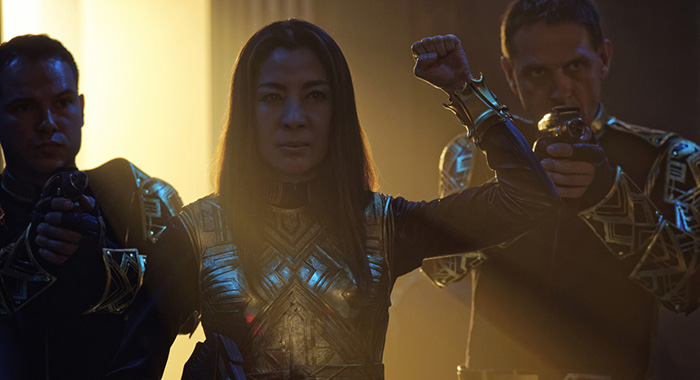 """What's Past Is Prologue"" -- Episode 113 -- Pictured: Michelle Yeoh as Philippa Georgiou (Ben Mark Holzberg/CBS)"