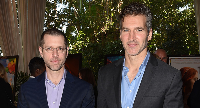 D. B. Weiss and David Benioff at the 18th Annual AFI Awards in LA (Kevin Winter/Getty Images for AFI)