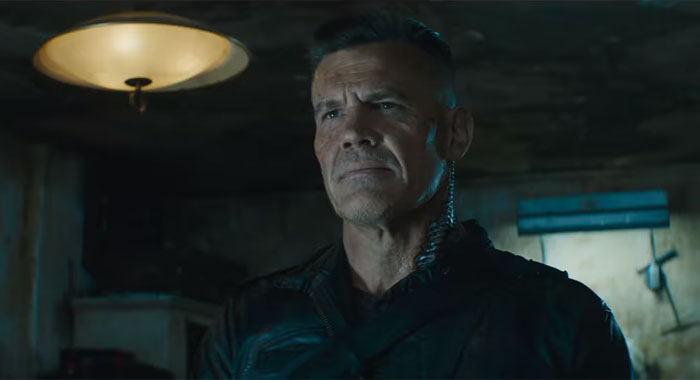 Josh Brolin as Cable in Deadpool 2 screenshot (20th Century Fox)