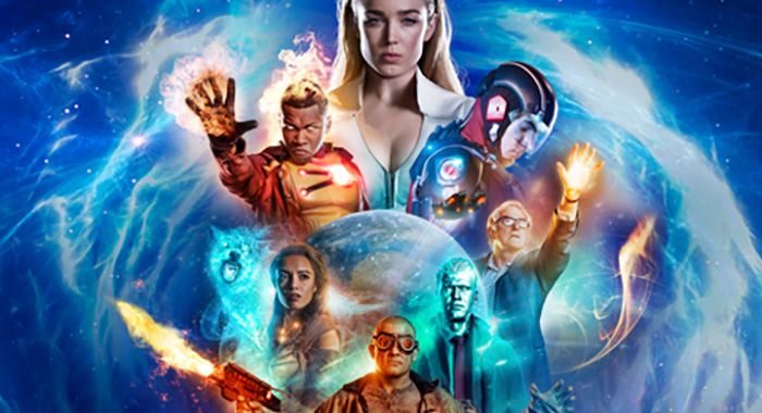 DC's Legends Of Tomorrow season 3 keyart (The CW)