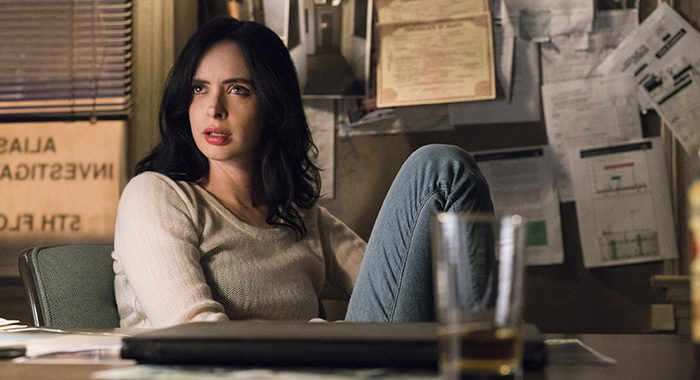 Krysten Ritter in Marvel's Jessica Jones season 2 (David Giesbrecht/Netflix)