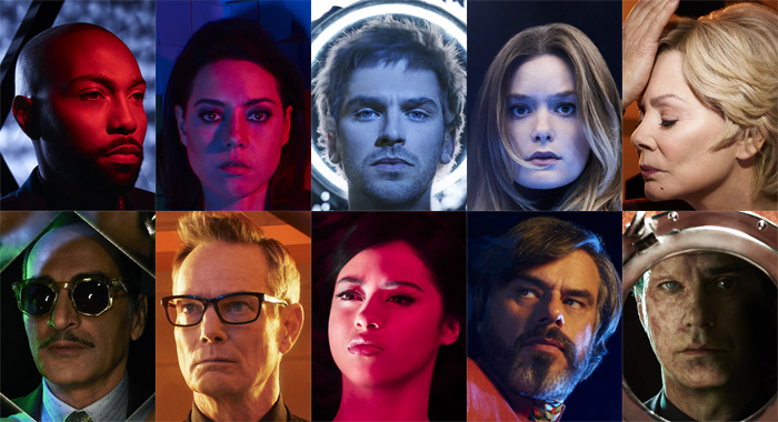 LEGION - season 2 cast (Matthias Clamer/FX)