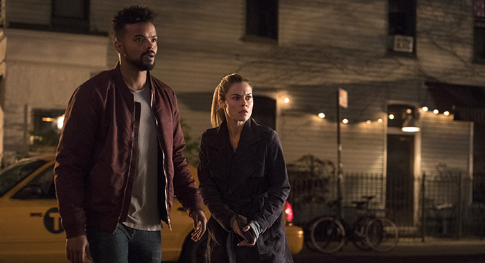 Marvel's Jessica Jones with Eka Darville, Rachael Taylor (David Giesbrecht/Netflix)