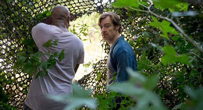 Seth Gilliam and R. Keith Harris - The Walking Dead _ Season 8, Episode 11 - Photo Credit: Gene Page/AMC