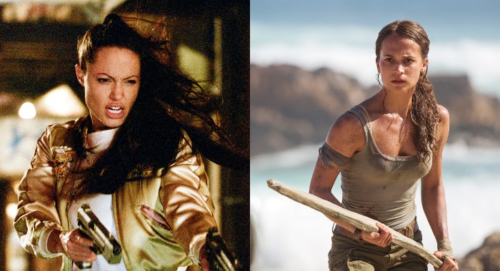 Alicia Vikander Vs Angelina Jolie A Lara Croft Tomatometer Face