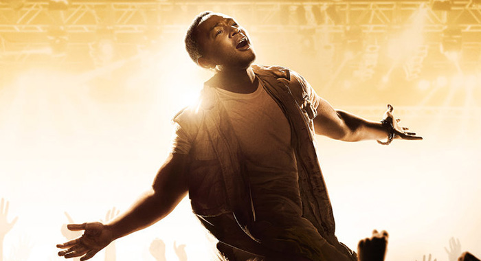 "John Legend in JESUS CHRIST SUPERSTAR LIVE IN CONCERT -- Pictured: ""Jesus Christ Superstar Live in Concert"" Key Art (NBC)"