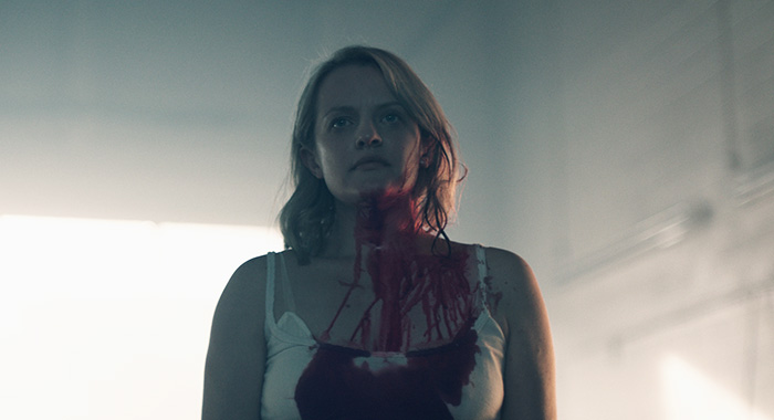 Elisabeth Moss in THE HANDMAID'S TALE (Take Five/Hulu)