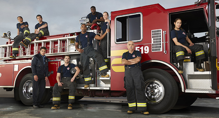 STATION 19 cast (ABC/Ed Herrera)