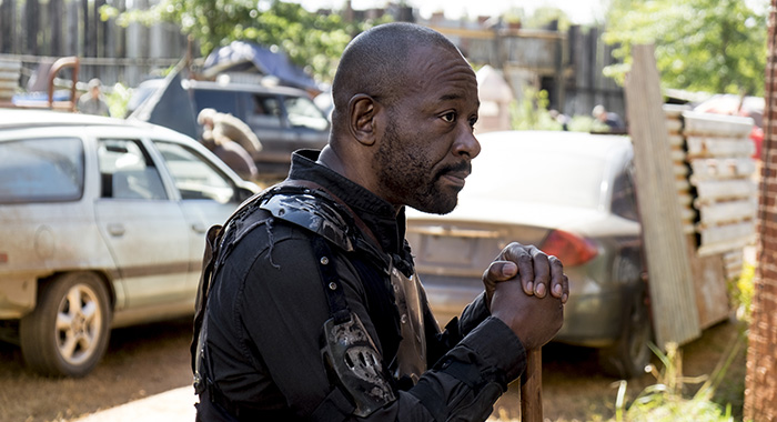 Lennie James as Morgan Jones - The Walking Dead _ Season 8, Episode 13 - Photo Credit: Gene Page/AMC