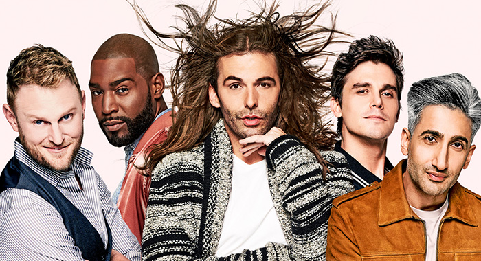 Queer Eye season 1 keyart (Netflix)