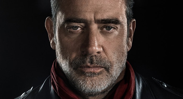 Jeffrey Dean Morgan as Negan - The Walking Dead _ Season 8 (Frank Ockenfels 3/AMC)
