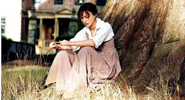 Keira Knightley in Pride and Prejudice (Focus Features/courtesy Everett Collection)