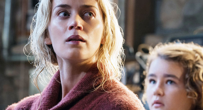 Emily Blunt and Millicent Simmonds in A Quiet Place (Paramount /Courtesy Everett Collection)