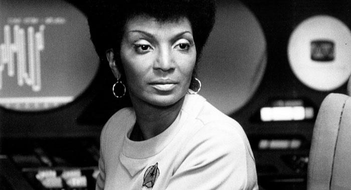 Nichelle Nichols in Star Trek: The Motion Picture Paramount Pictures / Courtesy: Everett Collection)