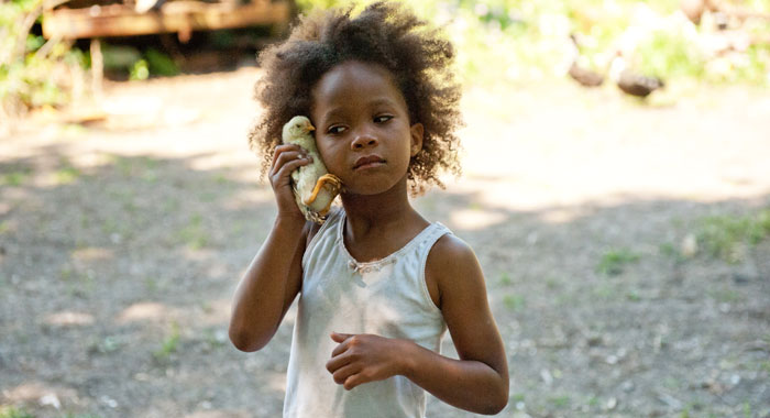 Quvenzhane Wallis as Hushpuppy in Beasts of the Southern Wild (Copyright Fox Searchlight./Courtesy Everett Collection)