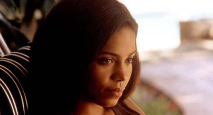 Sanaa Lathan in Love and Basketball (New Line Cinema/courtesy Everett Collection)