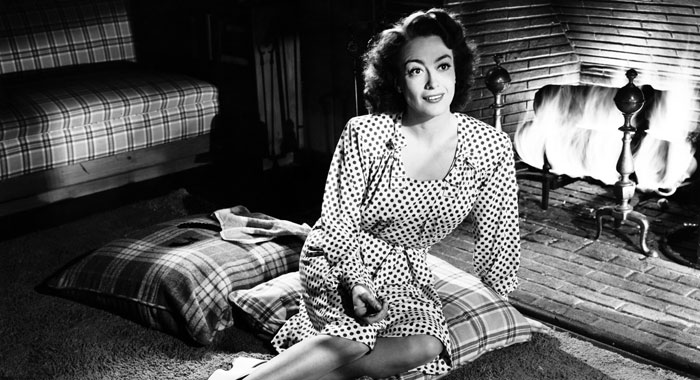 Joan Crawford in Mildred Pierce (Everett Collection)