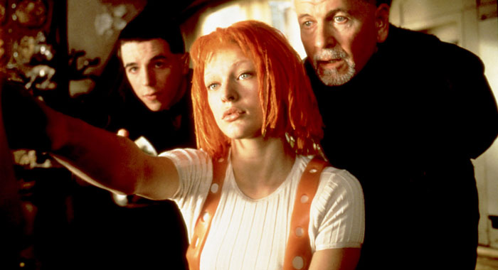 Milla Jovovich in The Fifth Element (Columbia Pictures/ Courtesy: Everett Collection)