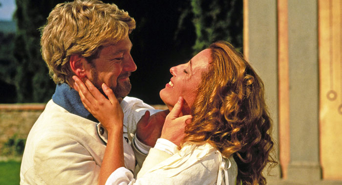 Emma Thompson in Much Ado About Nothing (Samuel Goldwyn/courtesy Everett Collection)