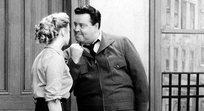 THE HONEYMOONERS, Audrey Meadows, Jackie Gleason, 1955-56 (Courtesy Everett Collection)