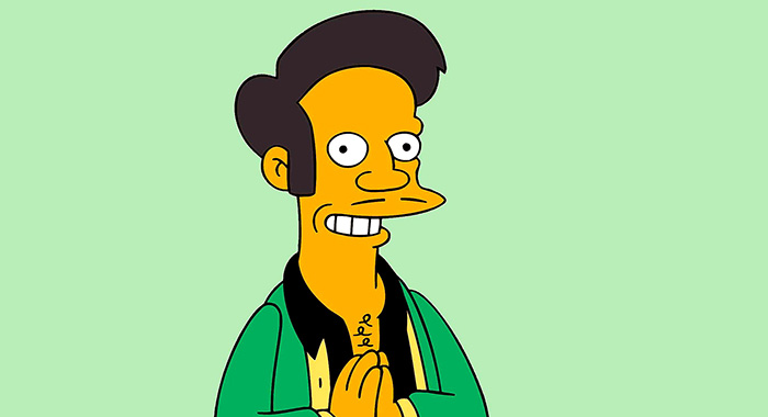 THE SIMPSONS. Apu Nahasapeemapetilon. TM and Copyright © 20th Century Fox Film Corp. All rights reserved.