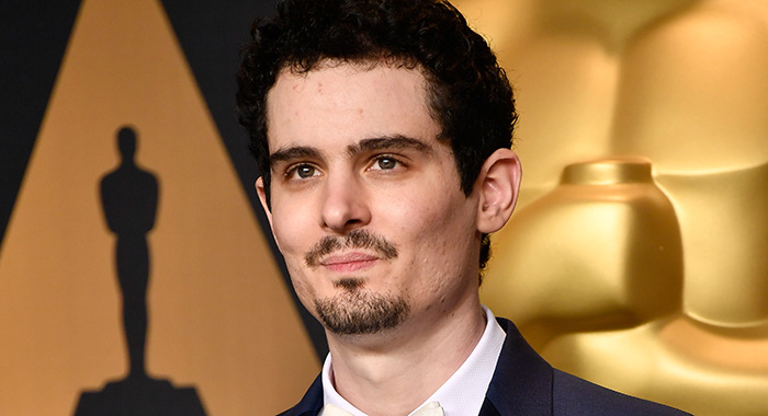 HOLLYWOOD, CA - FEBRUARY 26: Director Damien Chazelle, winner of Best Director for 'La La Land' poses in the press room during the 89th Annual Academy Awards at Hollywood & Highland Center on February 26, 2017 in Hollywood, California. (Photo by Frazer Harrison/Getty Images)