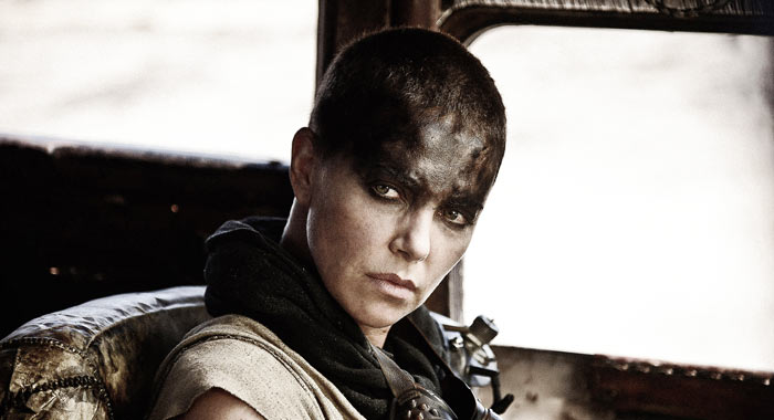 Charlize Theron as Imperator Furiosa in Mad Max: Fury Road (Jasin Boland/Warner Bros)