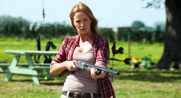 Emily Blunt in Looper (TriStar Pictures/courtesy Everett Collection)