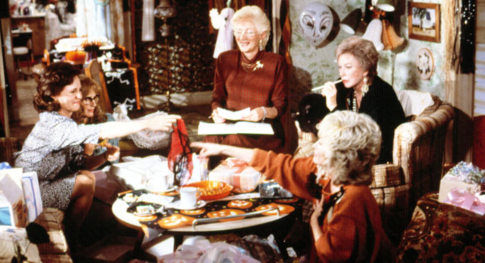 Sally Field, Daryl Hannah, Olympia Dukakis, Shirley MacLaine and Dolly Parton in Steel Magnolias (TriStar Pictures/Courtesy Everett Collection)