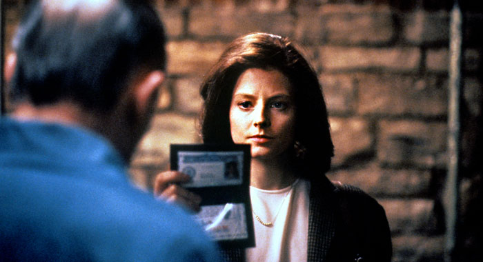 Silence of the Lambs, Jodie Foster as Clarice (Orion Pictures Corporation)