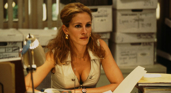 Julia Roberts in Erin Brockovich (Universal Pictures)