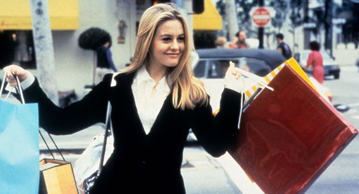 CLUELESS, Alicia Silverstone as Cher (Paramount Pictures)