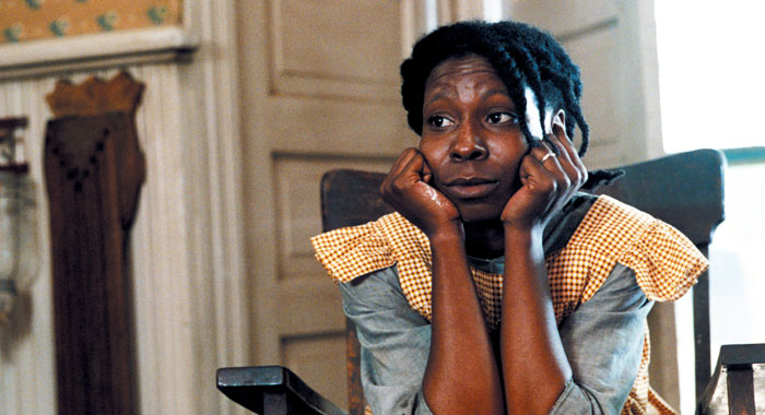 THE COLOR PURPLE, Whoopi Goldberg (Warner Brothers)