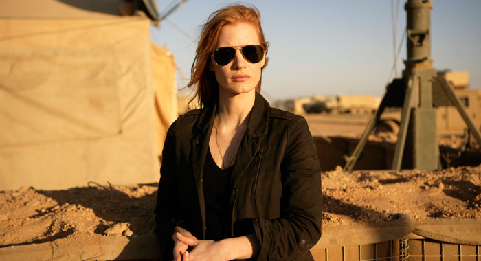 Zero Dark Thirty, Jessica Chastain (Richard Olley/Columbia Pictures)