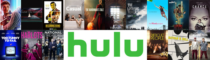 Hulu library shows