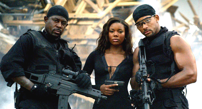 BAD BOYS 2, Martin Lawrence, Gabrielle Union, Will Smith, 2003, (c) Columbia/courtesy Everett Collection