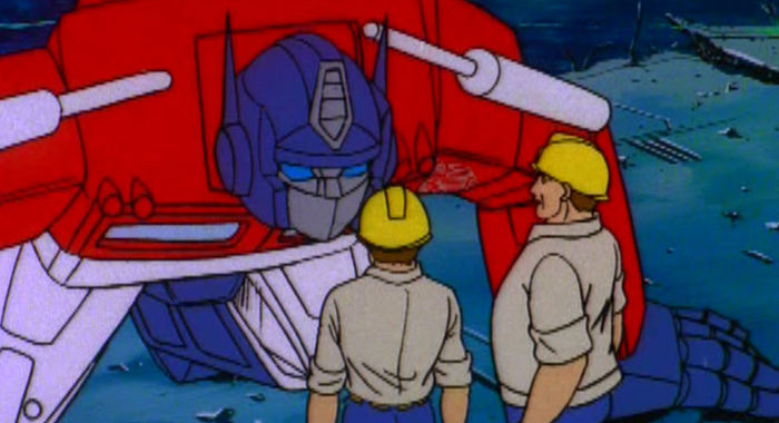 The Transformers: The Complete Original Series trailer screencap (Shout Factory)