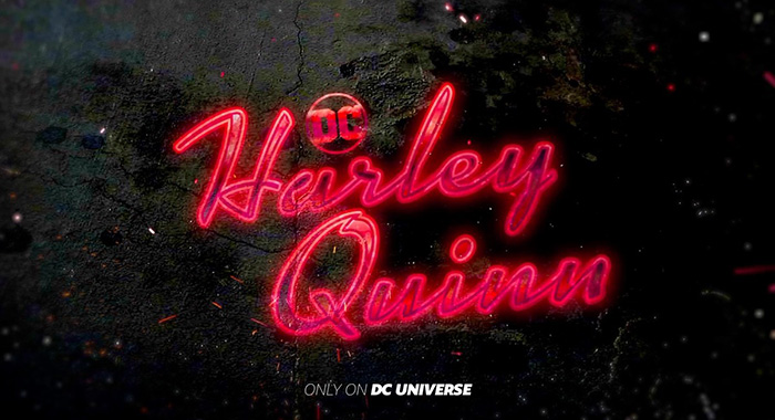 Harley Quinn title (DC Universe / DC Entertainment)