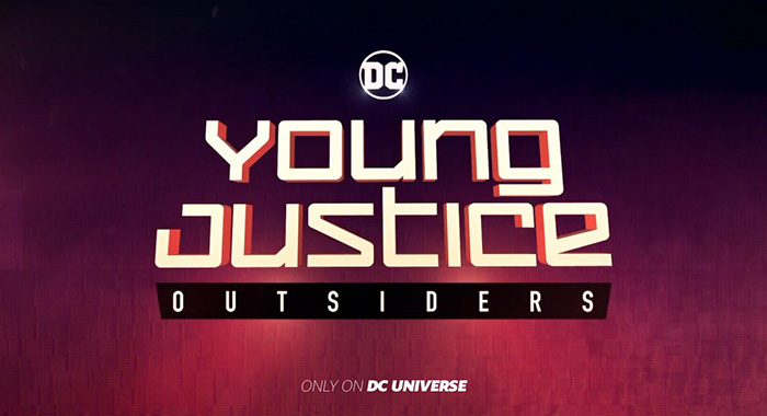Young Justice title (DC Universe / DC Entertainment)