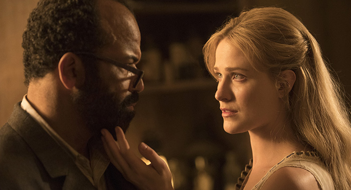 Westworld Episode 13 (season 2, episode 3), debut 5/6/18: Jeffrey Wright, Evan Rachel Wood. photo: John P. Johnson/HBO