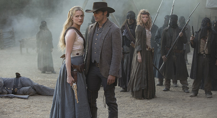 Westworld Episode 13 (season 2, episode 3), debut 5/6/18: Evan Rachel Wood, James Marsden. photo: John P. Johnson/HBO