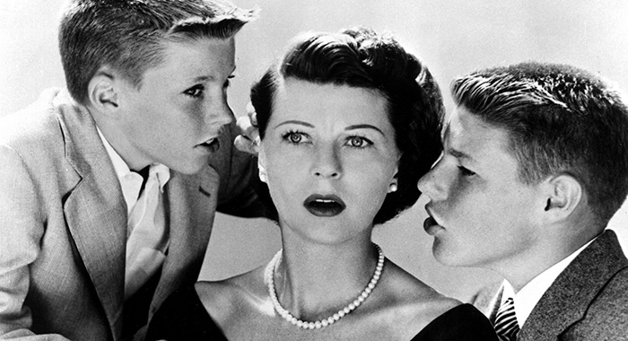 THE ADVENTURES OF OZZIE AND HARRIET, Ricky Nelson, Harriet Nelson, David Nelson, 1952-1966 (ABC)